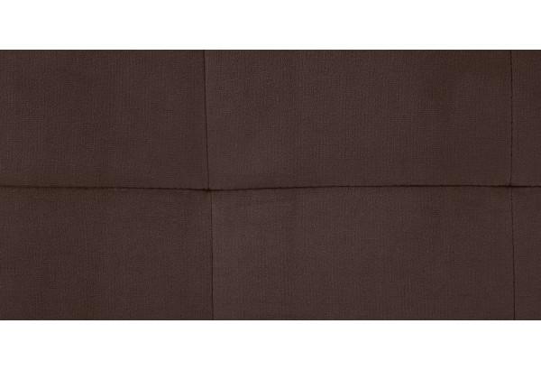 Диван тканевый прямой Камелот темно-коричневый (Велюр) - фото 6
