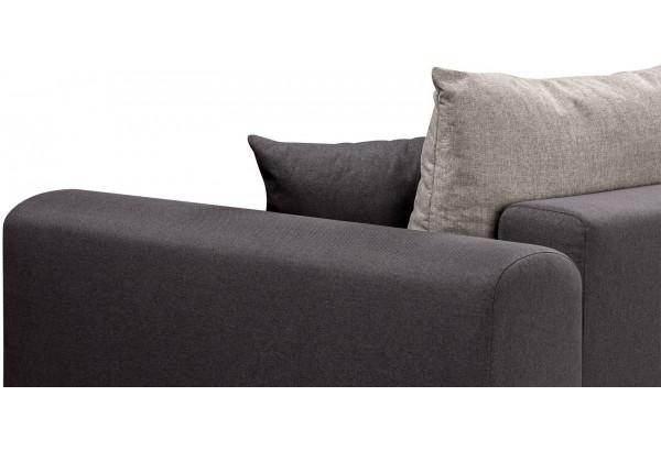 Диван тканевый прямой Медисон Вариант №4 темно-серый (Рогожка) - фото 9