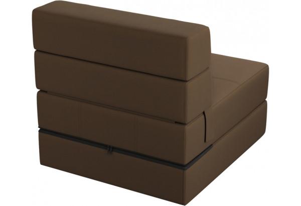 Кресло тканевое Форест тёмно-коричневый (Рогожка) - фото 3