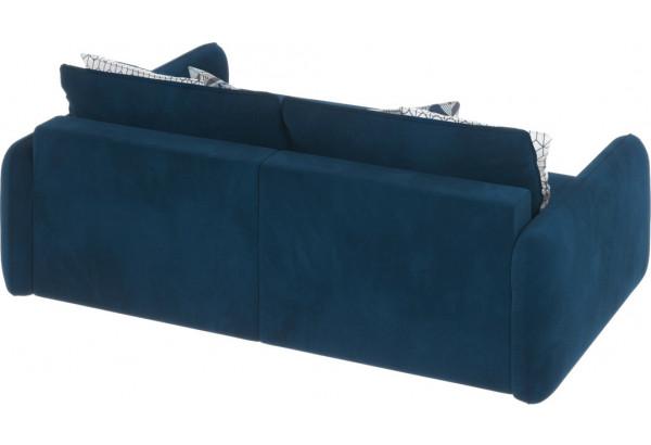 Диван тканевый угловой Портленд вариант №4 светло-синий (Микровелюр, правый) - фото 2
