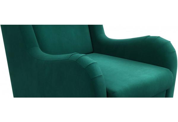 Кресло тканевое Грейс тёмно-зеленый (Велюр) - фото 4