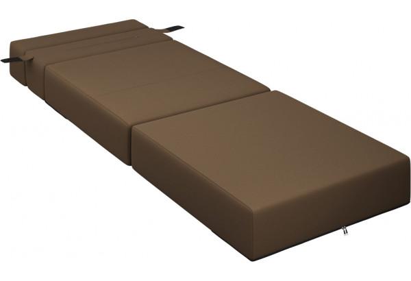 Кресло тканевое Форест тёмно-коричневый (Рогожка) - фото 6