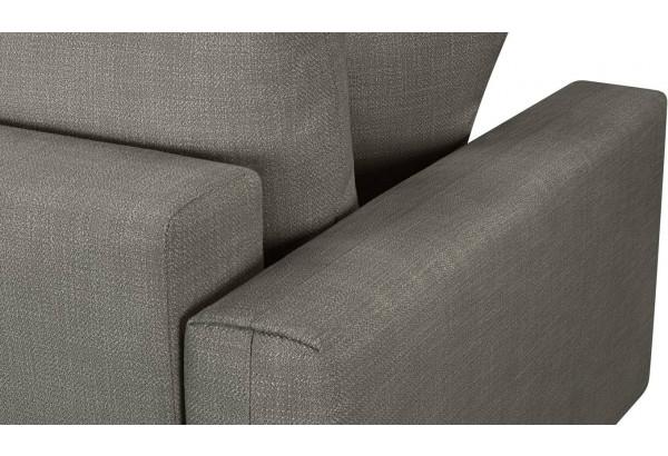 Модульный диван Брайтон вариант №2 серый (Рогожка) - фото 10