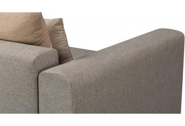 Кресло тканевое Медисон Вариант №1 100 см серый (Рогожка) - фото 7