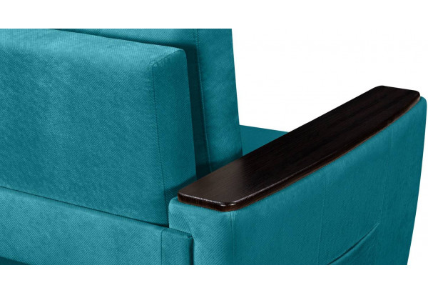 Кресло тканевое Майами бирюзовый (Велюр) - фото 8