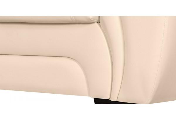 Кресло кожаное Бристоль Бежевый (Кожаное изделие) - фото 7