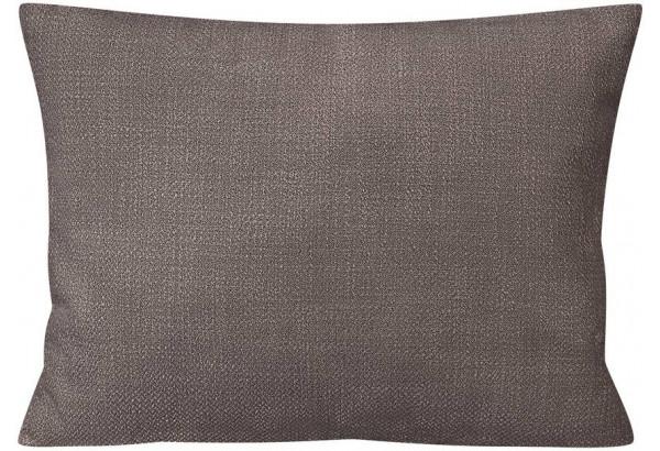 Декоративная подушка Портленд 60х48 см графитовый (Рогожка) - фото 1