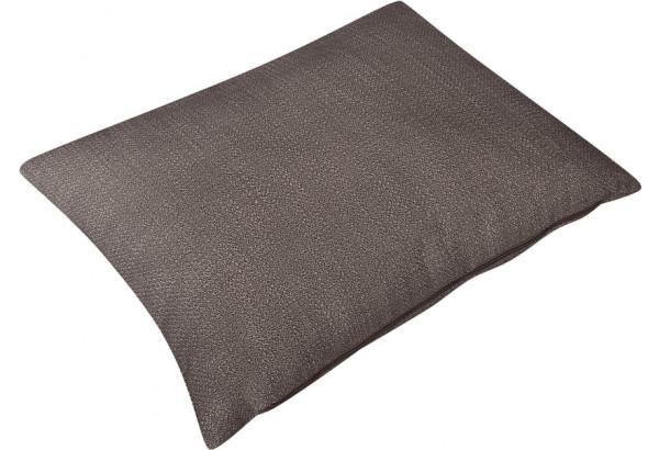Декоративная подушка Портленд 60х48 см графитовый (Рогожка) - фото 2