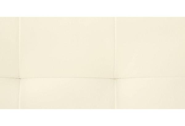Диван тканевый угловой Бристоль молочный (Экокожа, левый) - фото 10