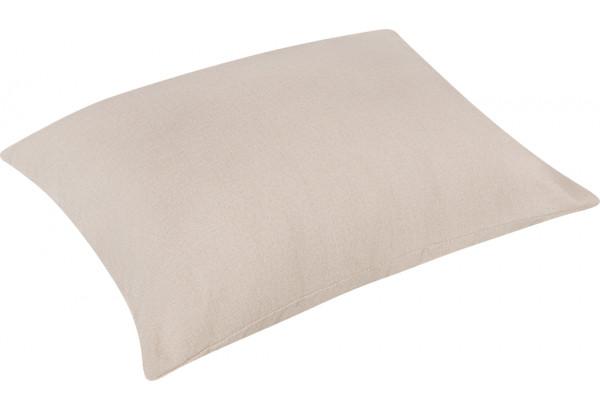 Декоративная подушка Медисон 60х45 см бежевый (Рогожка) - фото 2