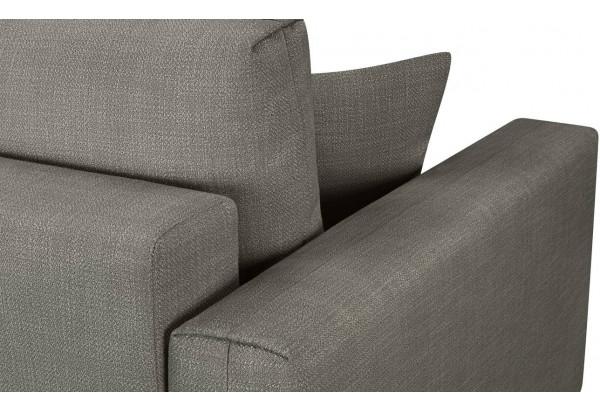 Модульный диван Брайтон вариант №1 серый (Рогожка) - фото 9