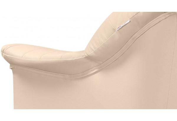 Кресло кожаное Женева Бежевый (Кожаное изделие) - фото 7
