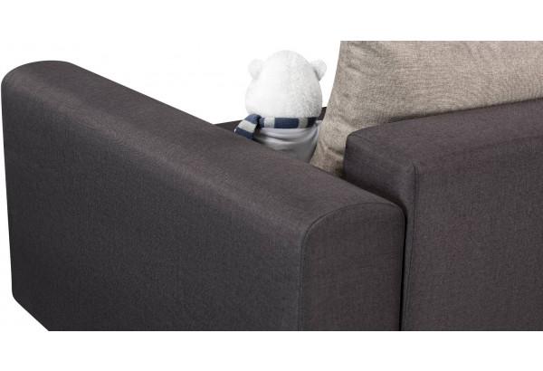 Кресло тканевое Медисон Вариант №2 80 см тёмно-серый (Рогожка) - фото 10