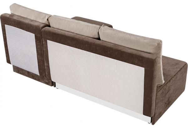 Диван тканевый угловой Каир светло-коричневый (Вельвет) - фото 5