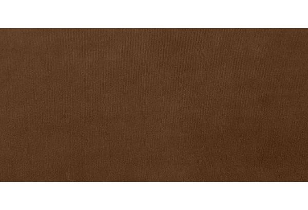Диван тканевый прямой Флэтфорд-2 140 см темно-коричневый/бежевый (Велюр) - фото 7