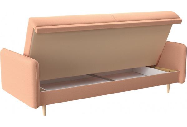 Диван тканевый прямой Голливуд розовый (Рогожка) - фото 5