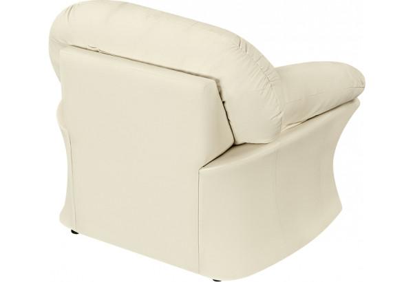 Кресло Ланкастер молочный (Экокожа) - фото 4
