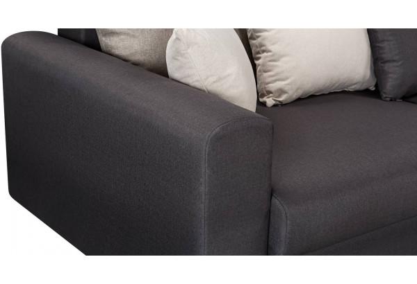 Диван тканевый угловой Медисон Вариант №2 тёмно-серый (Рогожка) - фото 7
