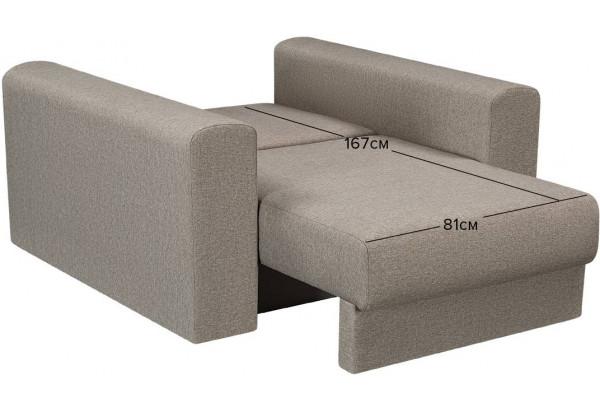 Кресло тканевое Медисон Вариант №2 80 см серый (Рогожка) - фото 3