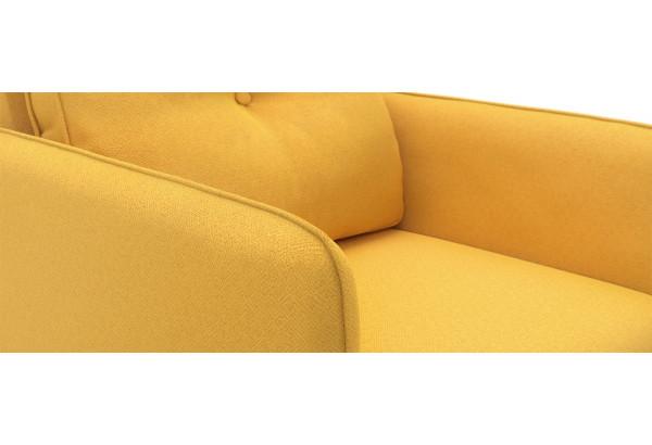 Кресло тканевое Голливуд горчичный (Рогожка) - фото 5