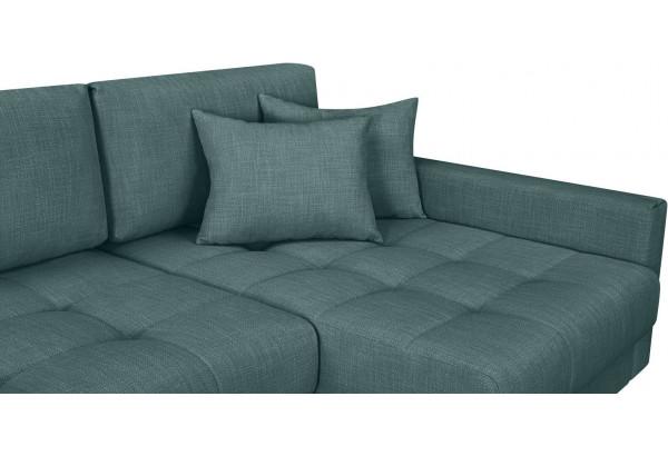 Модульный диван Брайтон вариант №3 голубой (Рогожка) - фото 7