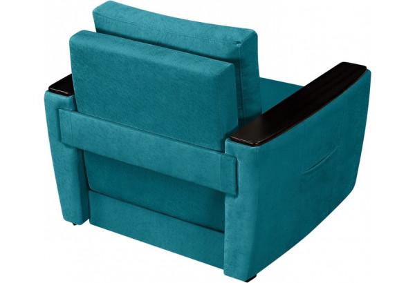 Кресло тканевое Майами бирюзовый (Велюр) - фото 5