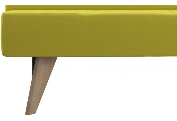 Диван тканевый прямой Касабланка зеленый (Рогожка) - фото 8