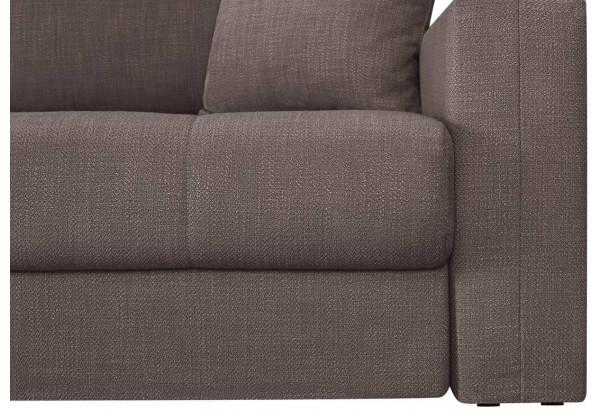 Модульный диван Брайтон вариант №2 графитовый (Рогожка) - фото 7