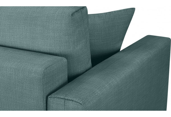 Модульный диван Брайтон вариант №2 голубой (Рогожка) - фото 9