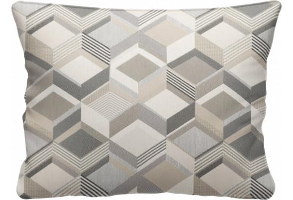 Декоративная подушка Портленд 60х48 см вариант №1 серый (Жаккард) - фото 1