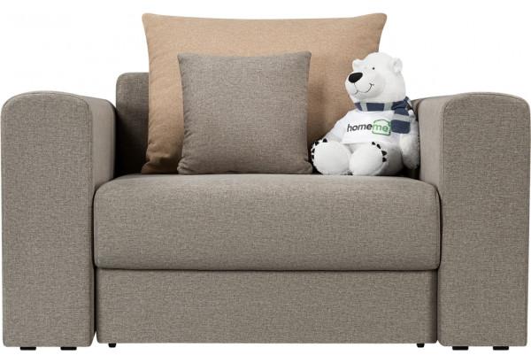 Кресло тканевое Медисон Вариант №2 80 см серый (Рогожка) - фото 4