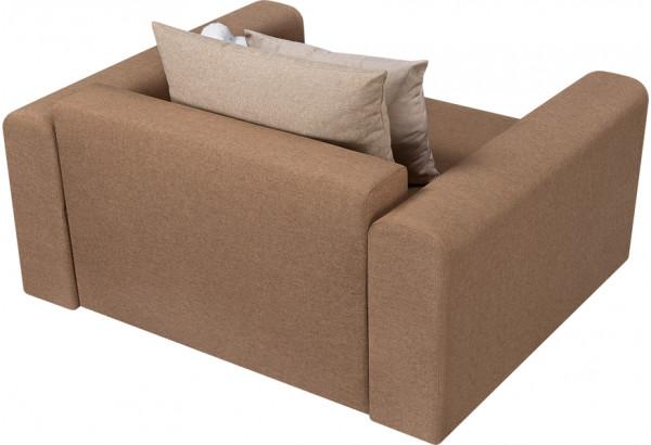 Кресло тканевое Медисон Вариант №1 100 см коричневый (Рогожка) - фото 5