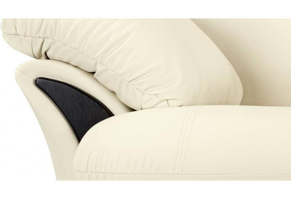 Кресло Ланкастер молочный (Экокожа) - фото 5