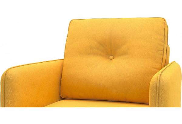 Кресло тканевое Голливуд горчичный (Рогожка) - фото 4