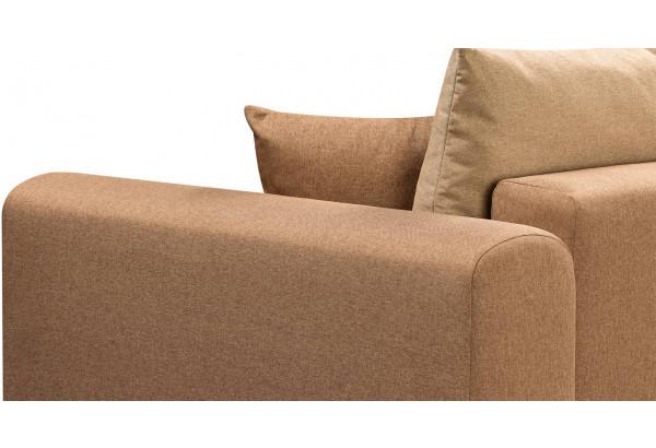 Диван тканевый прямой Медисон Вариант №4 коричневый (Рогожка) - фото 9