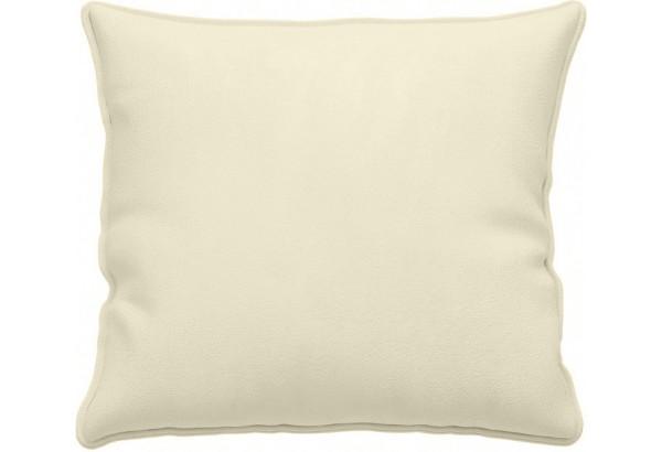 Декоративная подушка Портленд 41х41 см молочный (Микровелюр) - фото 1