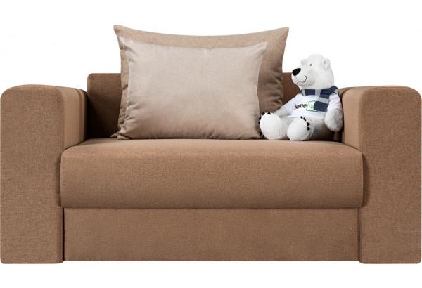 Кресло тканевое Медисон Вариант №1 100 см коричневый (Рогожка) - фото 4