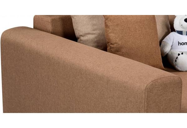Кресло тканевое Медисон Вариант №2 80 см коричневый (Рогожка) - фото 7