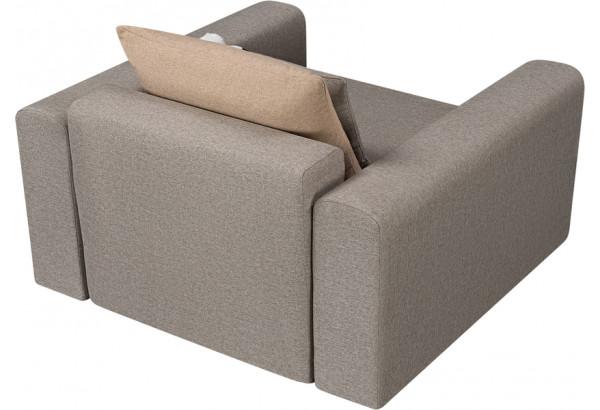 Кресло тканевое Медисон Вариант №2 80 см серый (Рогожка) - фото 5