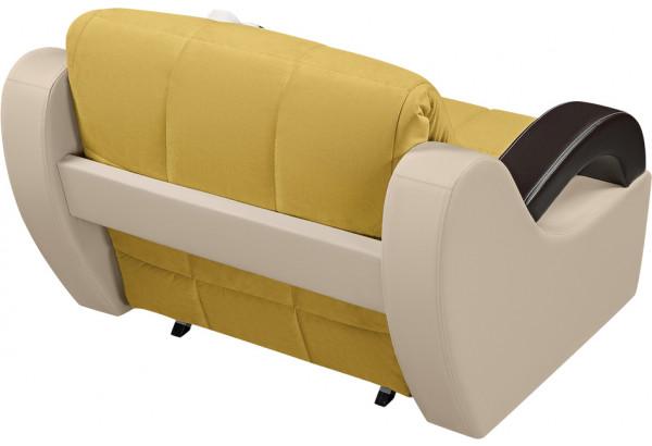 Кресло тканевое Мадрид оливковый (Велюр + Экокожа) - фото 3