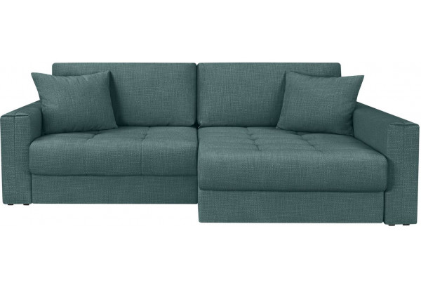 Модульный диван Брайтон вариант №2 голубой (Рогожка) - фото 4
