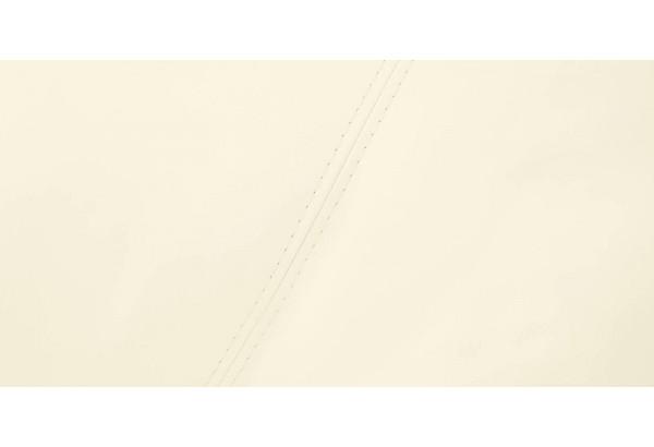 Диван тканевый угловой Ланкастер молочный (Экокожа, левый) - фото 10
