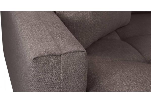 Модульный диван Брайтон вариант №2 графитовый (Рогожка) - фото 10