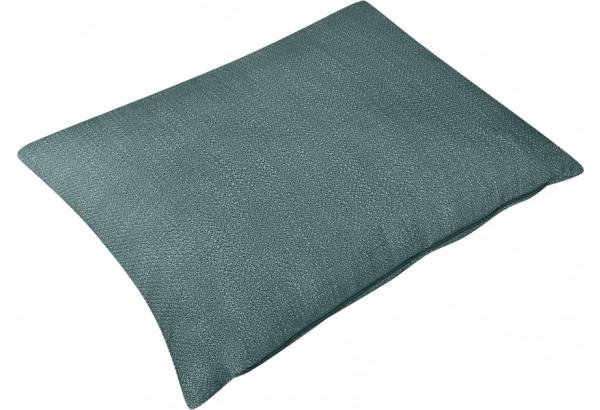 Декоративная подушка Портленд 60х48 см голубой (Рогожка) - фото 2