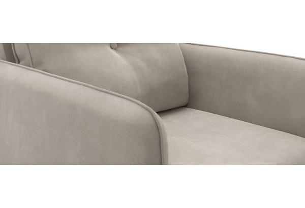 Кресло тканевое Голливуд серый (Велюр) - фото 4