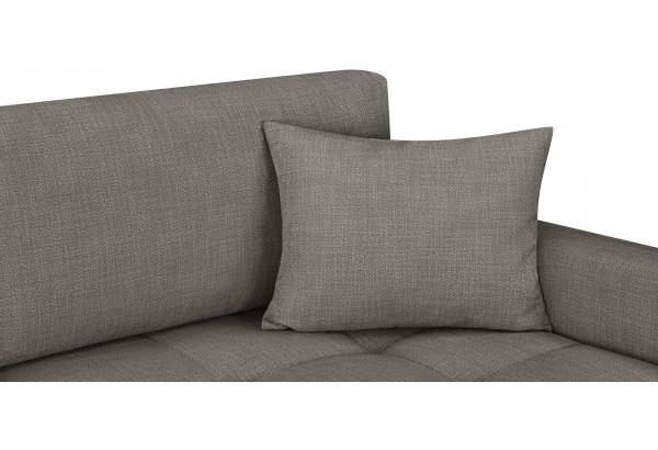 Модульный диван Брайтон вариант №2 серый (Рогожка) - фото 8