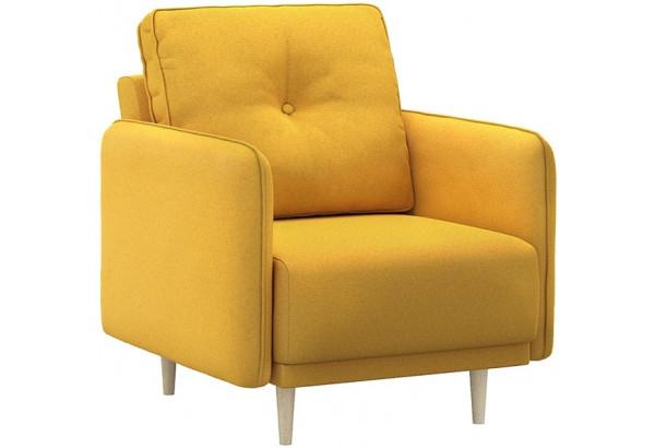 Кресло тканевое Голливуд горчичный (Рогожка) - фото 1