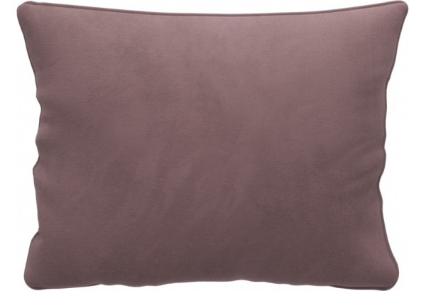 Декоративная подушка Портленд 60х48 см вариант №1 Розово-серый (Велюр) - фото 1