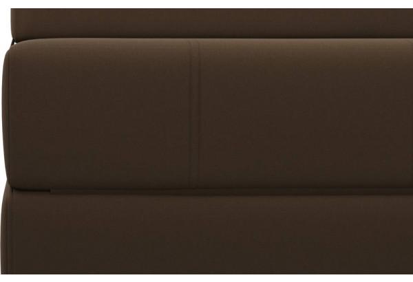 Кресло тканевое Форест тёмно-коричневый (Рогожка) - фото 7