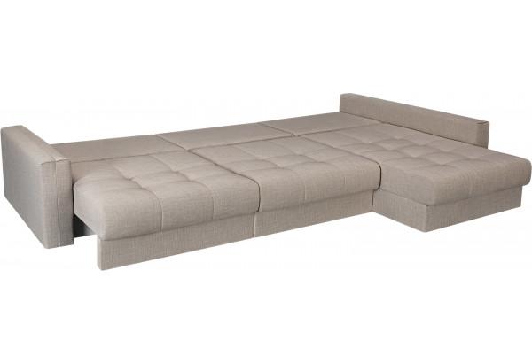 Модульный диван Брайтон вариант №3 бежевый (Рогожка) - фото 6